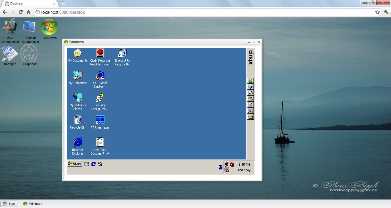 Enterprise desktop